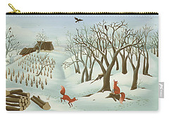 Waiting For Better Times Carry-all Pouch by Magdolna Ban