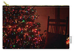 Waiting For Christmas - Square Carry-all Pouch