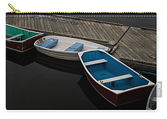 Carry-all Pouch featuring the photograph Waiting For Duty by Jeff Folger