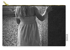 Carry-all Pouch featuring the photograph Waiting For The Rain To End  by Lucinda Walter