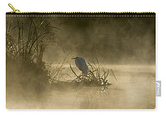 Carry-all Pouch featuring the photograph Waiting For The Sun by Steven Sparks