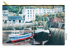 Waiting For The Tide Carry-all Pouch by Rosemary Colyer