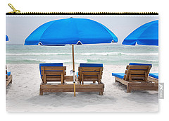 Panama City Beach Florida Empty Chairs Carry-all Pouch