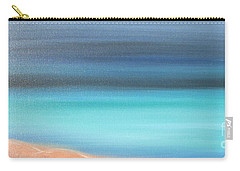 Carry-all Pouch featuring the painting Waiting by Jacqueline Athmann