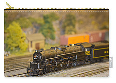 Carry-all Pouch featuring the photograph Waiting Model Train  by Patrice Zinck