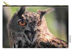 Carry-all Pouch featuring the photograph Wake Up by Leticia Latocki