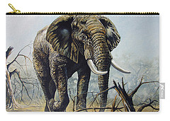 Walk About Carry-all Pouch by Anthony Mwangi