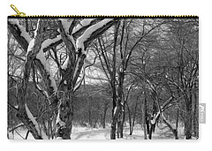 Walk In The Snow Carry-all Pouch