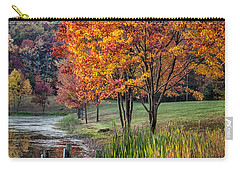 Walk Into Fall Carry-all Pouch by Ronald Lutz