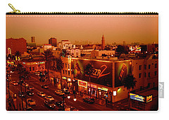 Walk Of Fame Hollywood In Orange Carry-all Pouch