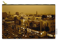 Walk Of Fame Hollywood In Sepia Carry-all Pouch