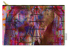 Walk On The Wild Side Carry-all Pouch by Nola Lee Kelsey