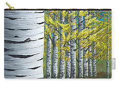 Walk Through Aspens Triptych 1 Carry-all Pouch