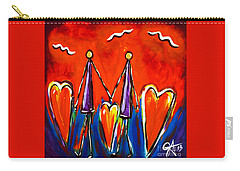 Walk With Me Carry-all Pouch by Jackie Carpenter