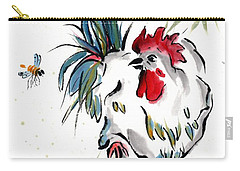 Carry-all Pouch featuring the painting Walkabout by Bill Searle