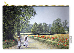 Walking Home Carry-all Pouch by Rosemary Colyer