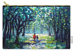 Walking In The Park Carry-all Pouch