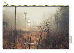 Walking The Lines Carry-all Pouch by Jessica Brawley