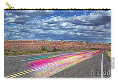 Carry-all Pouch featuring the digital art Walking With God by Margie Chapman