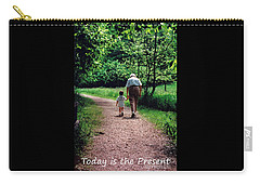 Walking With Grandma Carry-all Pouch