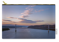 Walkway Over The Hudson Dawn Carry-all Pouch by Joan Carroll
