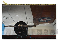 Wall Of Great Aviators Carry-all Pouch
