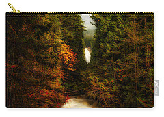 Wallace Fall North Fork Carry-all Pouch by James Heckt