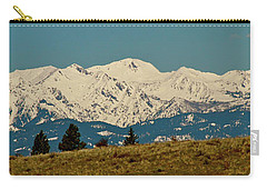Wallowa Mountains Oregon Carry-all Pouch by Ed  Riche