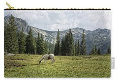 Carry-all Pouch featuring the photograph Wallowas - No. 2 by Belinda Greb