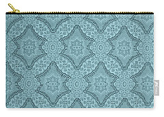 Wallpaper Blues Carry-all Pouch by Liz  Alderdice