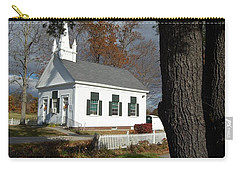 Carry-all Pouch featuring the photograph Walnut Grove by Mim White