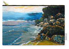 Walomwolla Beach Carry-all Pouch by Pamela  Meredith