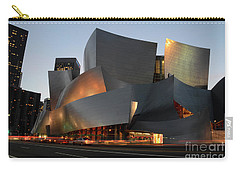 Walt Disney Concert Hall 21 Carry-all Pouch by Bob Christopher