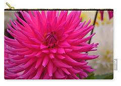 Carry-all Pouch featuring the photograph Walter Huston - Dahlia by Jordan Blackstone