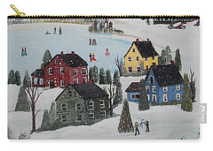 Waltzing Snow Carry-all Pouch