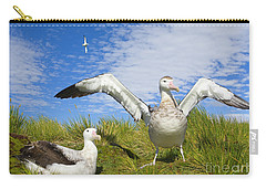 Wandering Albatross Courting  Carry-all Pouch
