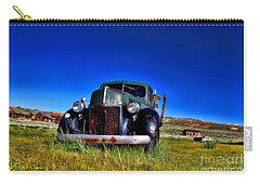 Wanna Ride - Bodie Ghost Town By Diana Sainz Carry-all Pouch