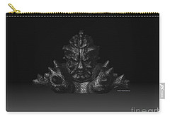 Carry-all Pouch featuring the sculpture Warlord by R Muirhead Art