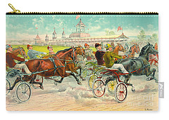 Warm-up Lap 1893 Carry-all Pouch by Padre Art