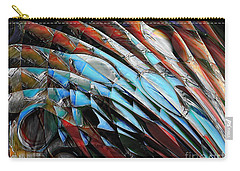 Carry-all Pouch featuring the digital art Warrior by Margie Chapman