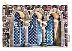 Carry-all Pouch featuring the photograph Wartburg Castle - Eisenach Germany - 2 by Mark Madere