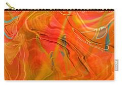 Was A Daylily Carry-all Pouch by Brooks Garten Hauschild