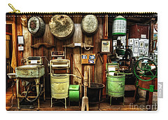 Washing Machines Of Yesteryear Carry-all Pouch by Kaye Menner