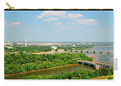 Washington D.c. Aerial View Carry-all Pouch