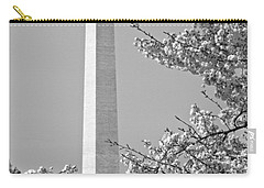 Washington Monument Amidst The Cherry Blossoms Carry-all Pouch
