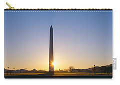 Washington Monument At Sunrise Carry-all Pouch