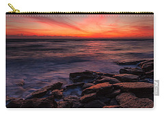 Washington Oaks Winter Sunrise Carry-all Pouch