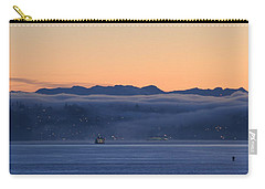 Washington State Ferries At Dawn Carry-all Pouch
