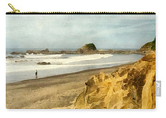 Washington State Seastacks Carry-all Pouch by Michelle Calkins