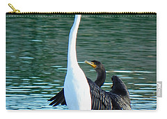Carry-all Pouch featuring the photograph Watch This by Deb Halloran